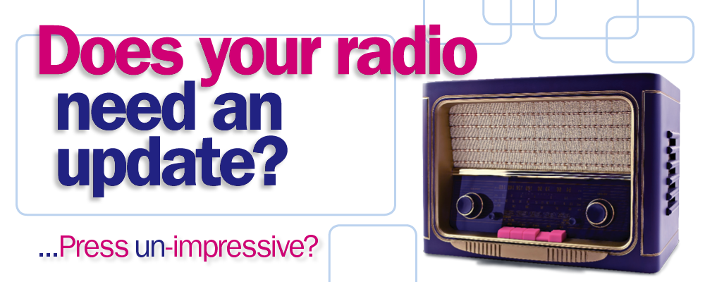 Does your radio need an update? Vintage radio
