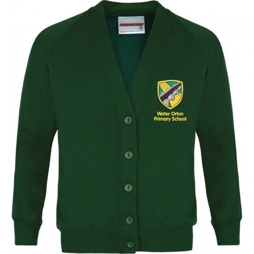 Water Orton Primary School Sweatshirt Cardigan