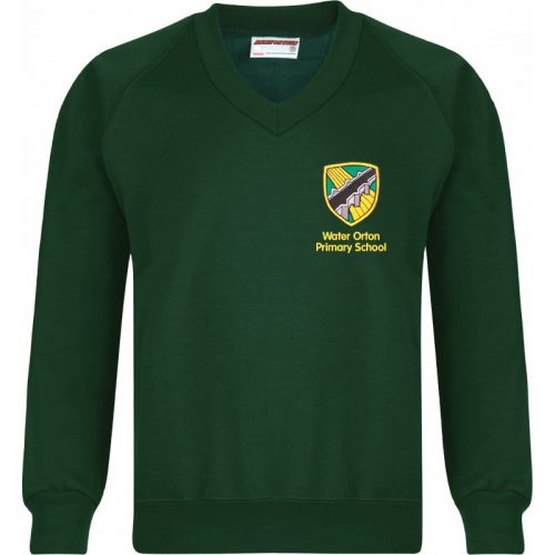 Water Orton Primary School V Neck Sweatshirt