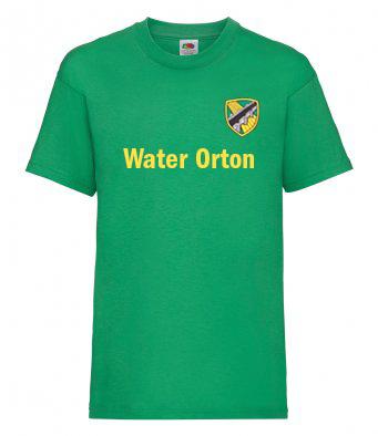 Water Orton Primary School PE T Shirt Front - Overton