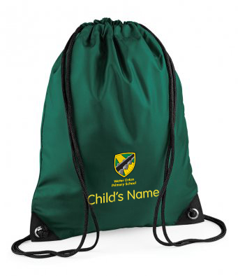 Water Orton Primary Gym Bag with Name