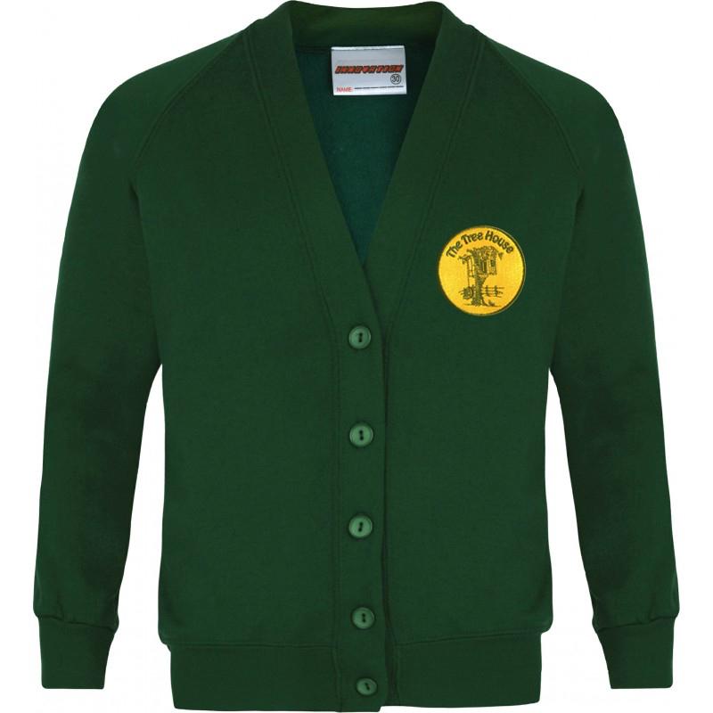 The Tree House Sweatshirt Cardigan