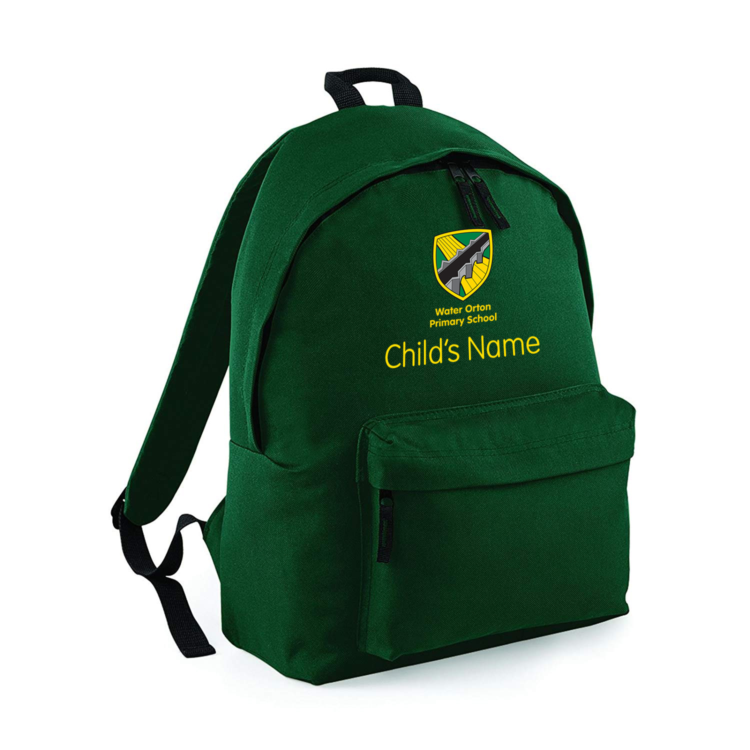 Water Orton Primary School Backpack with Name